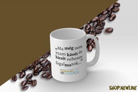 Bögre - Kávés idézettel